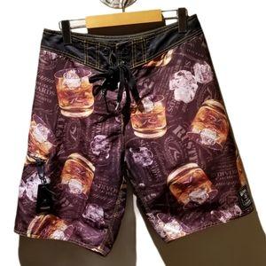 RUSTY'S Mens Board Shorts (Size M)